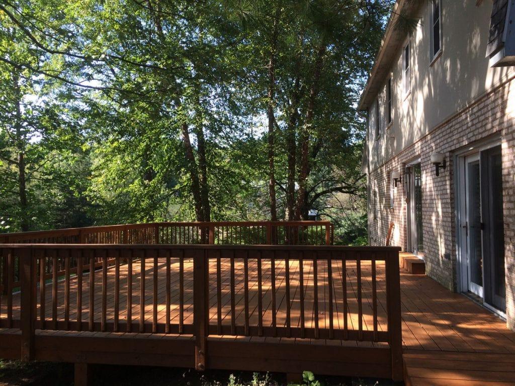 Deck Refinishing, Blacksburg, Virginia, by Stefan Morikawa, LLC